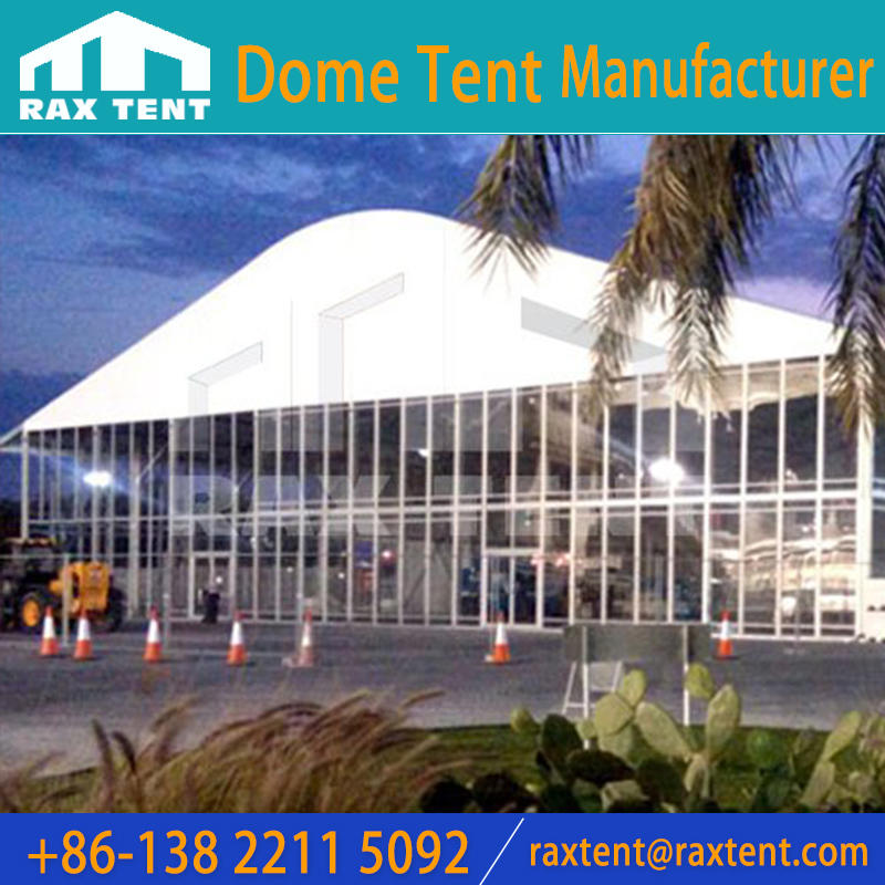 Arc Marquee Tent with glass wall For 1000 People Wedding party and event