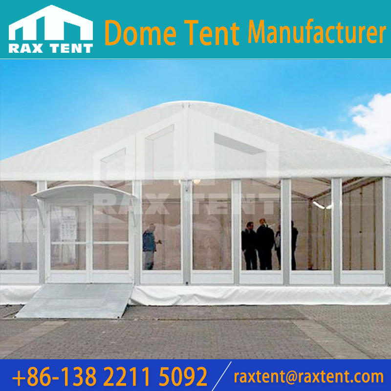 Arc Marquee Tent with glass wall For 1000 People Weddingparty and event