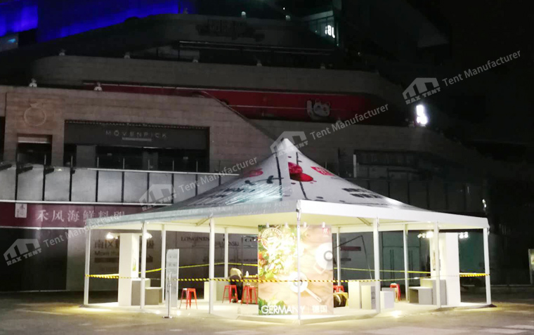 Raxtent pagoda tent