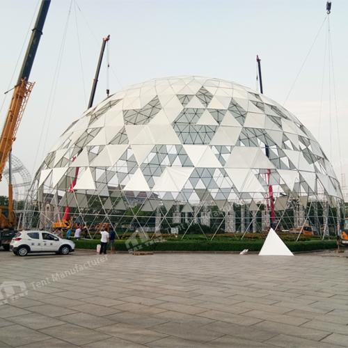build a big dome