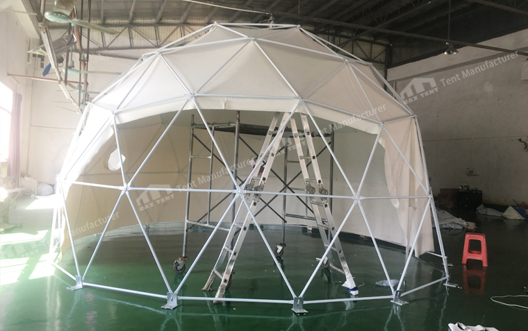 Raxtent dome house