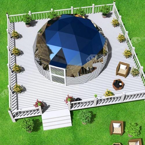 RAXTENT glass dome