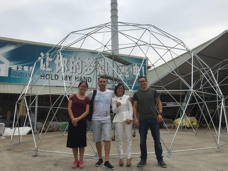 Raxtent  dome manufacturer