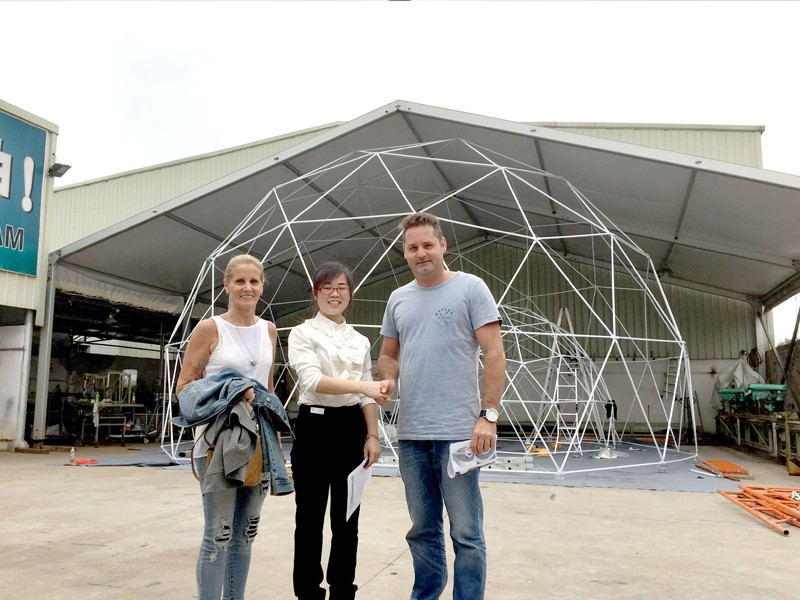 Raxtent  dome manufacturer
