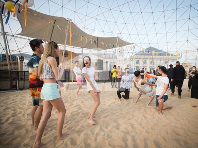 Raxtent geodesic dome