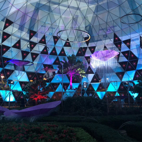 Raxtent dome for event