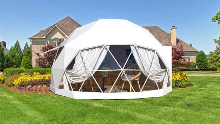 Design and build 6m dome house