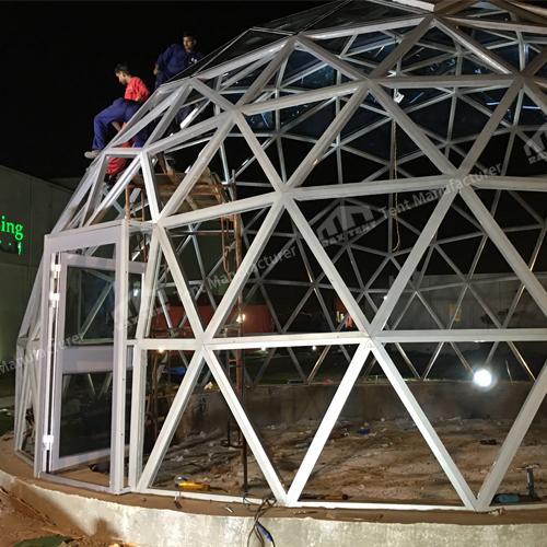Rax Tent glass dome house