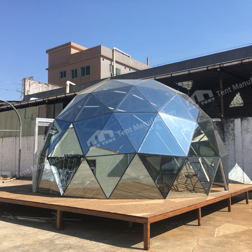 Raxtent Glass Dome House