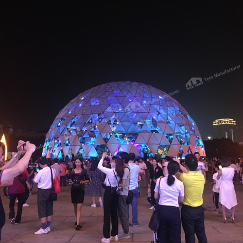 360 degree projection dome