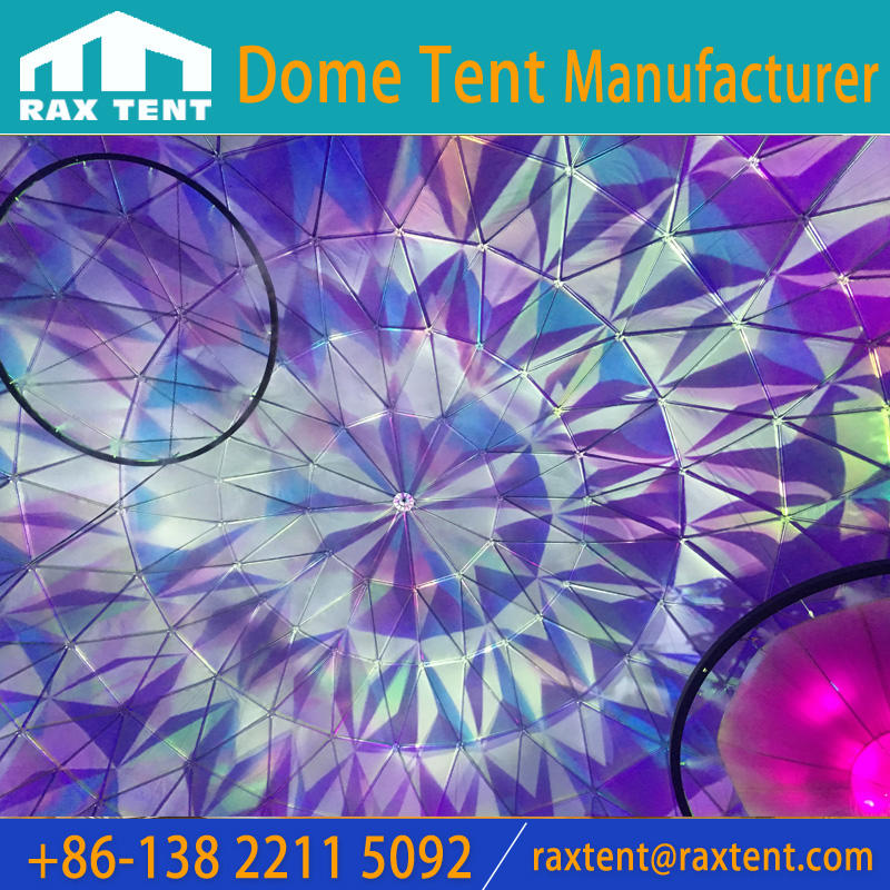 35m big dome for 360 degree projection geodesic dome for big events