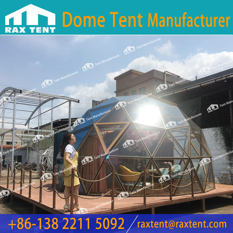 Most Suitable Glass Dome House for Camp and Glamping Dome Hotel at Factory Price