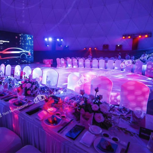 dome tent for event