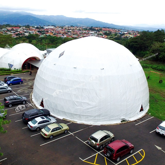 geodesic dome tent for event