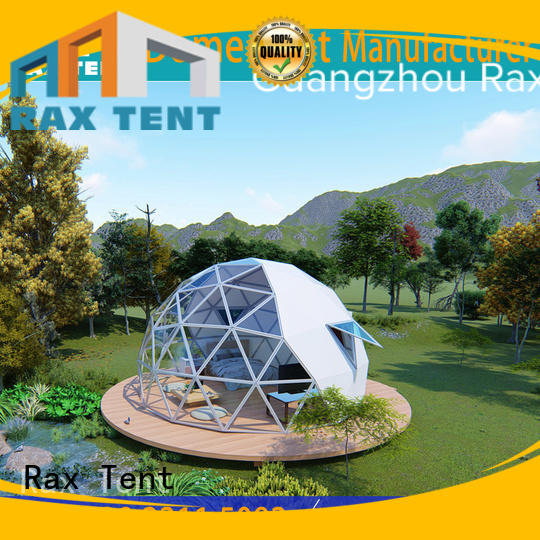 largest dome tent cafe room RAXTENT Brand glass dome house