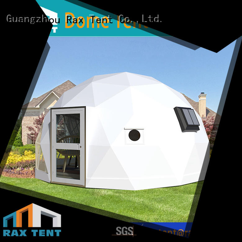 RAXTENT Brand hotel glass dome house glass dome hotel factory