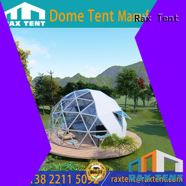 glass dome hotel glass dome house hotel largest dome tent RAXTENT Brand
