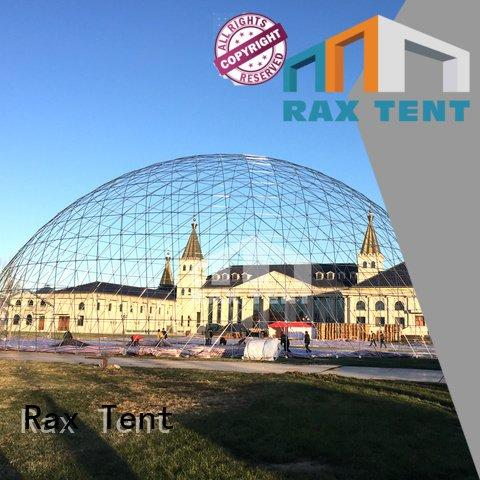 RAXTENT outdoor stainless 50m party marquee for sale dome