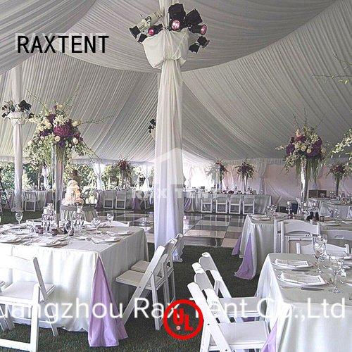 RAXTENT 20x60m outdoor aluminum large white wedding tent pvc