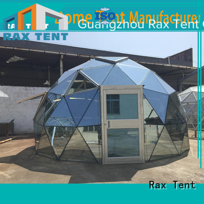 frame glass dome hotel RAXTENT Brand largest dome tent