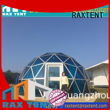 cafe hotel RAXTENT Brand largest dome tent factory