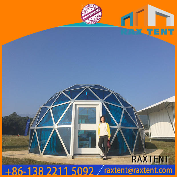 Hot hotel glass dome house hotel glass dome house RAXTENT Brand