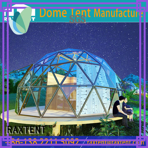 RAXTENT most suitable dome tent house Chinese for hotel