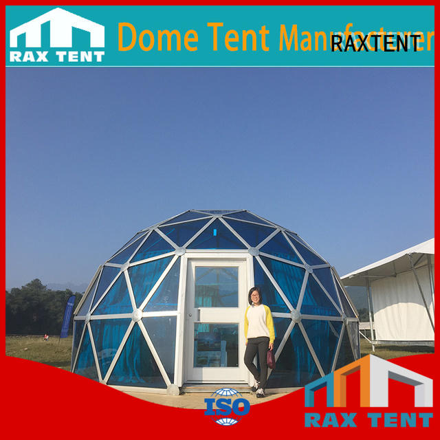 frame 4m 25m largest dome tent RAXTENT Brand