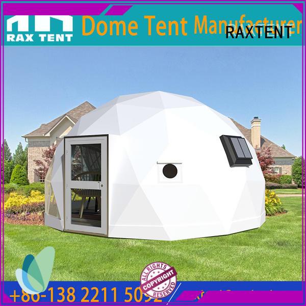 RAXTENT aluminium glass dome tent aluminum alloy for garden