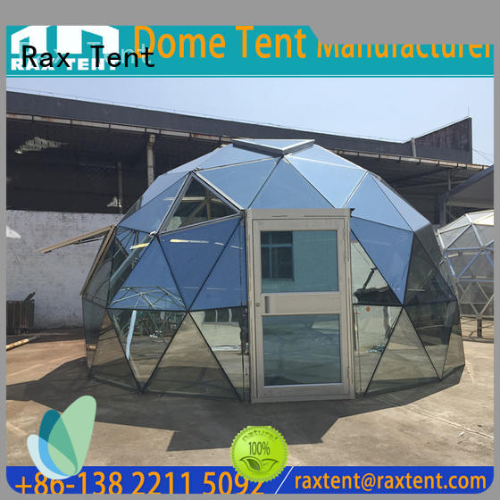 Hot largest dome tent glass dome hotel RAXTENT Brand