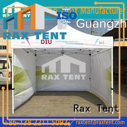 folding outdoor canopy gazebo pop outdoor events RAXTENT
