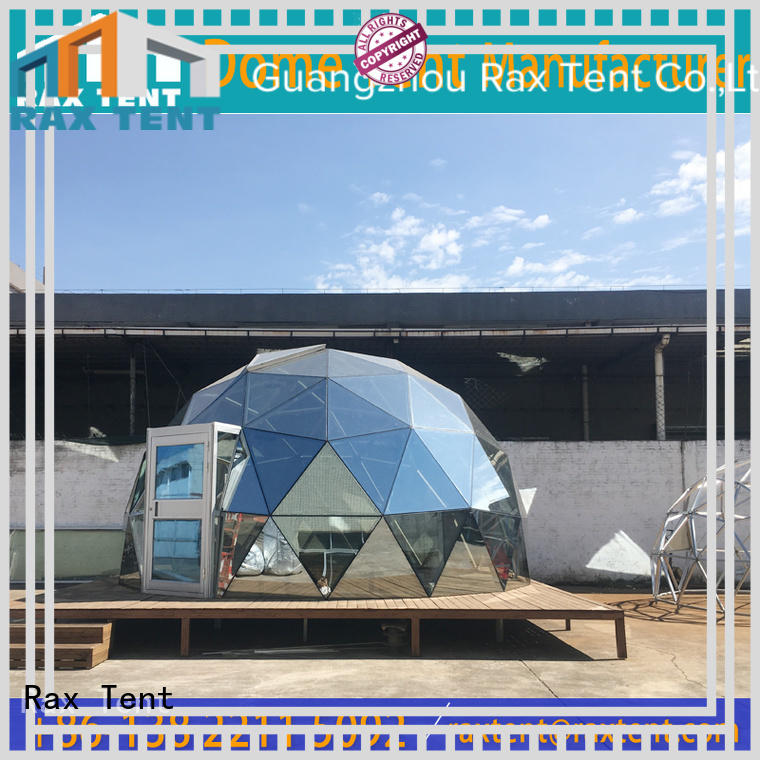 RAXTENT popular glass dome tent low cost for hotel