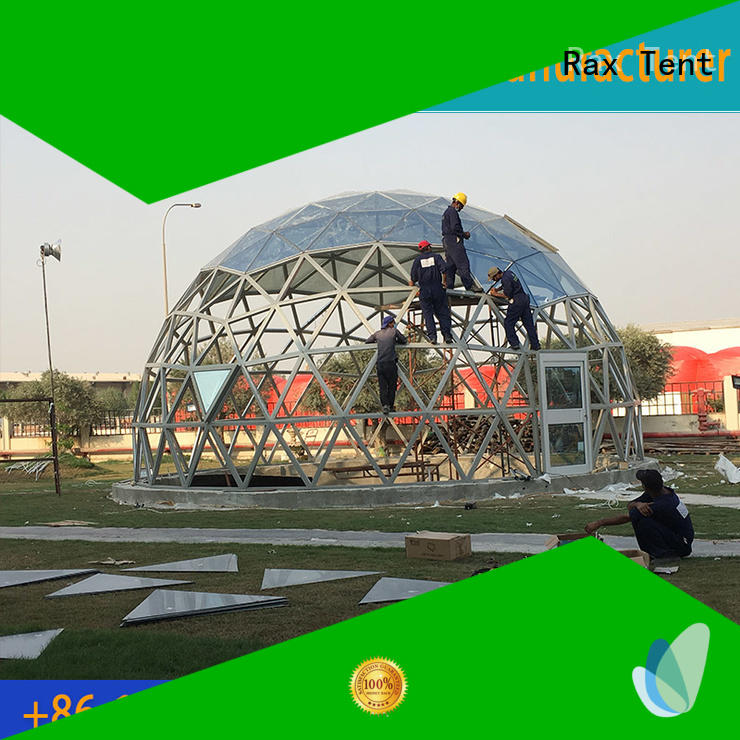 largest dome tent glass dome house dome glass RAXTENT Brand company