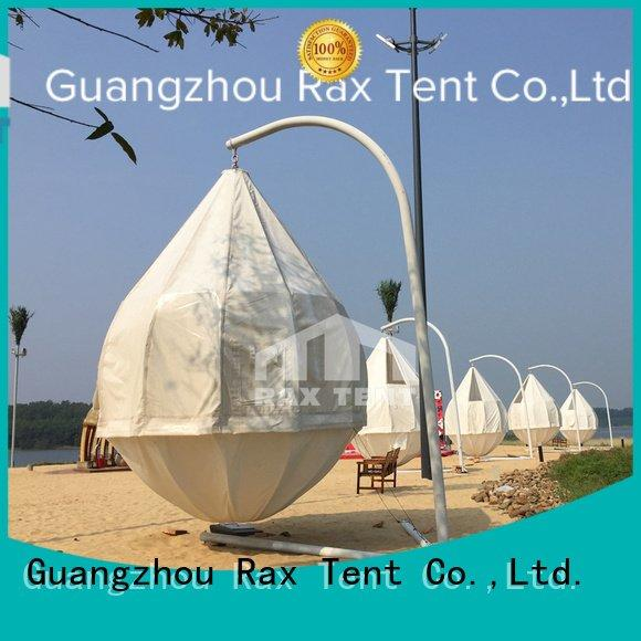 galanized coconut luxury camping tents glamping RAXTENT