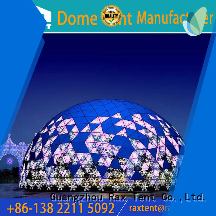 RAXTENT free-installation shelter tent best supplier for festival
